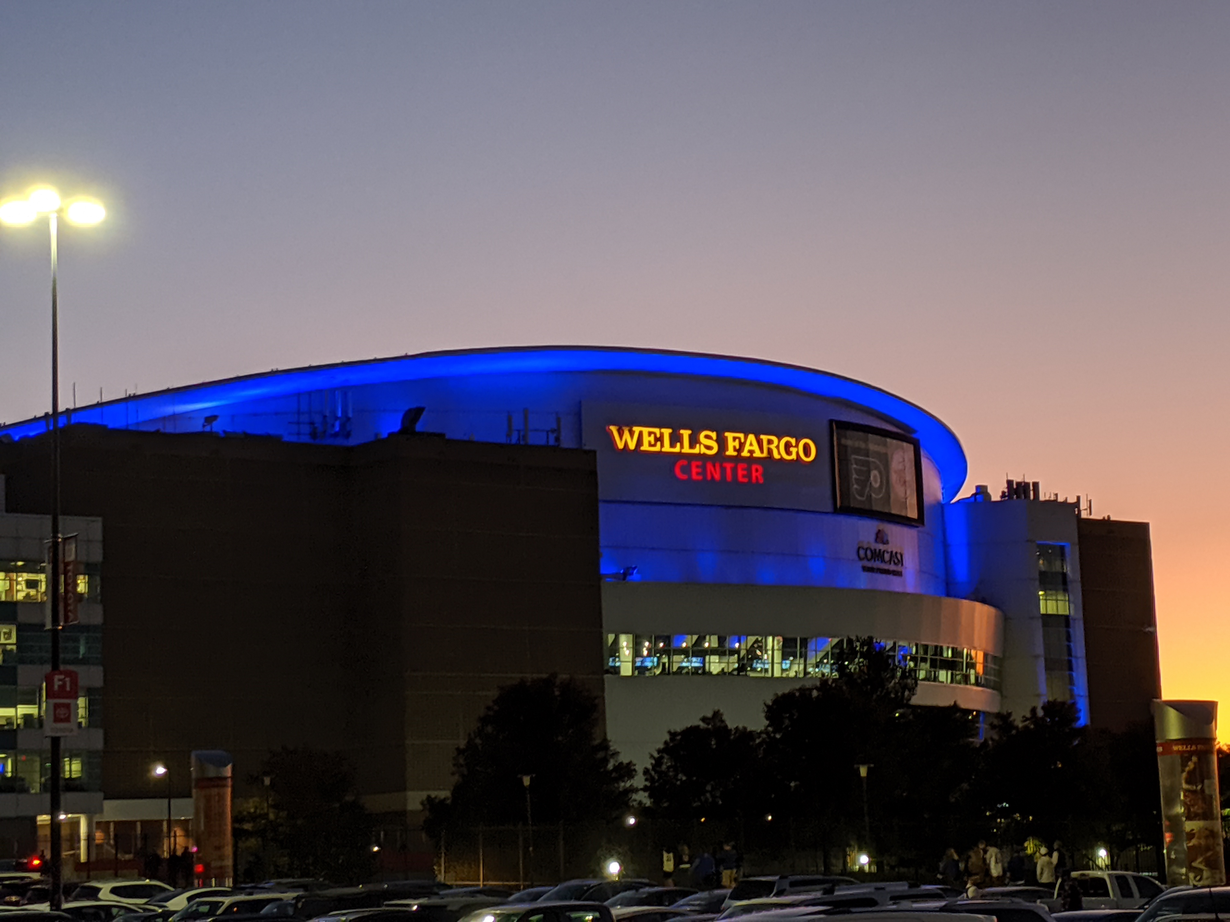 Wells Fargo Center Philadelphia 76ers Stadium Journey
