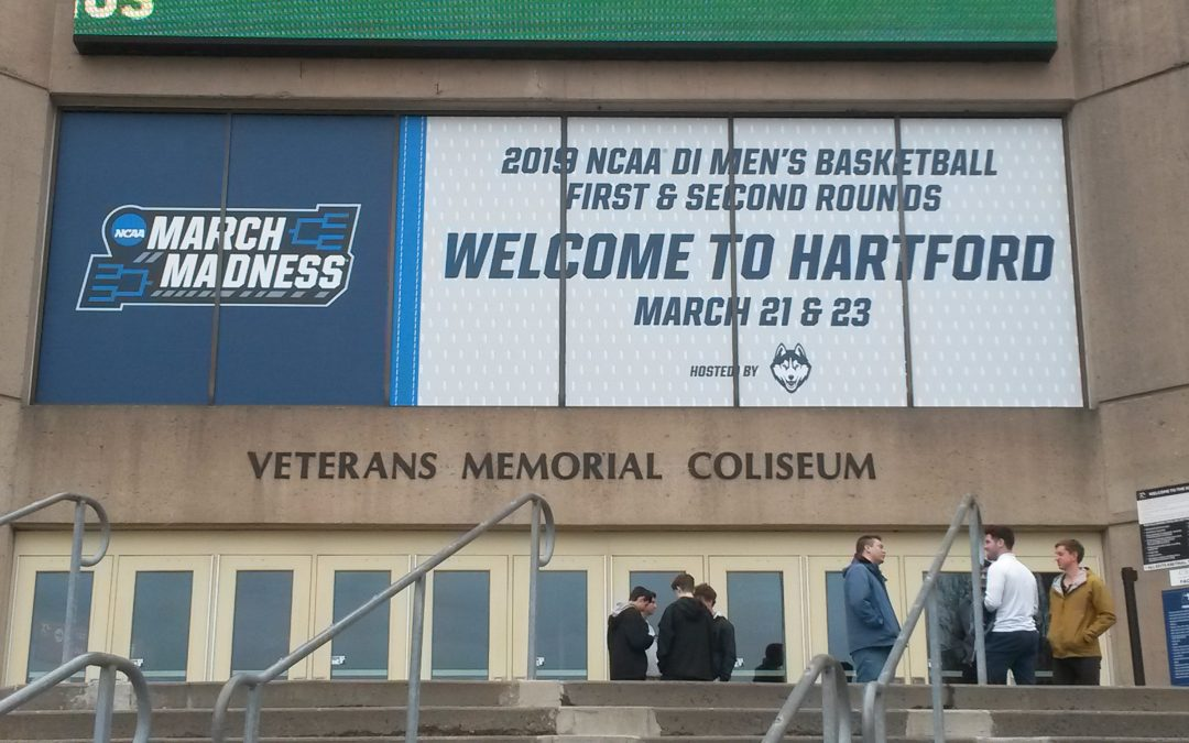 Road to the Final Four:  The XL Center in Hartford