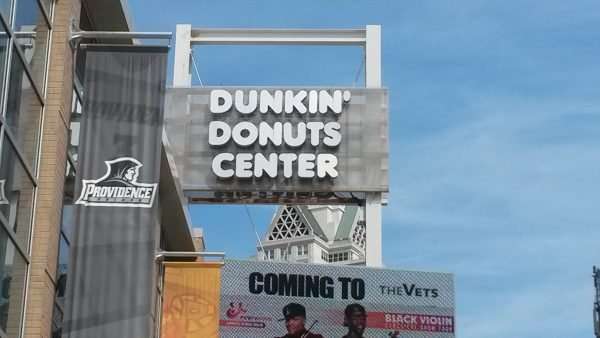 Dunkin' Donuts Center Marquee