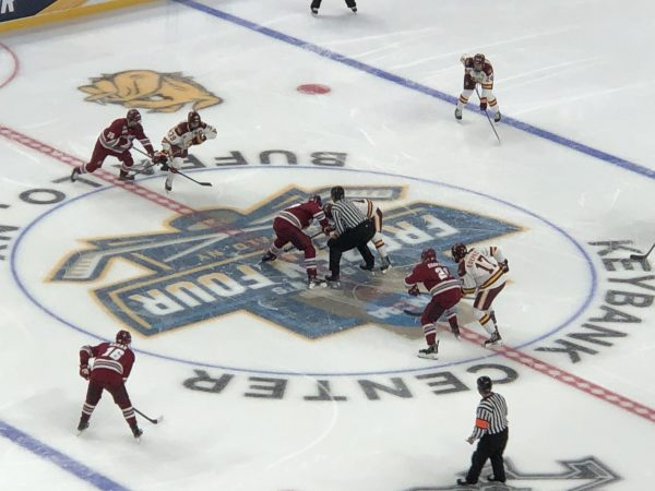 Faceoff at the Frozen Four