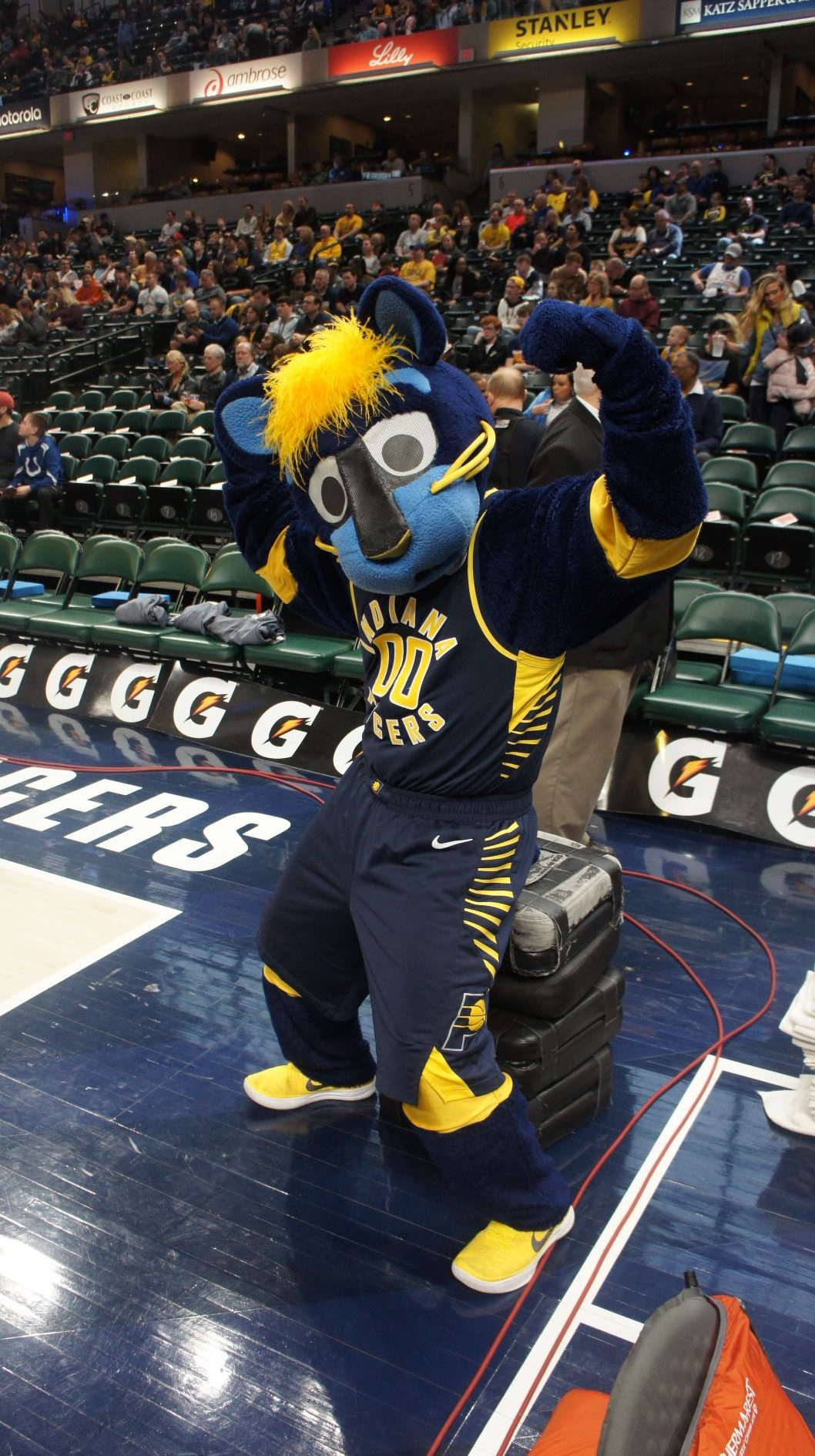 info for 38d9c bd169 Bankers Life Fieldhouse – Indiana Pacers | Stadium Journey