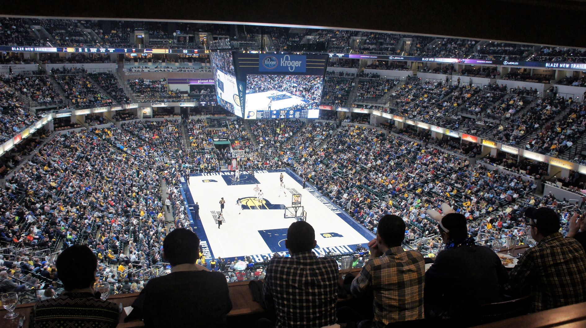 Bankers Life Fieldhouse Indiana Pacers Stadium Journey