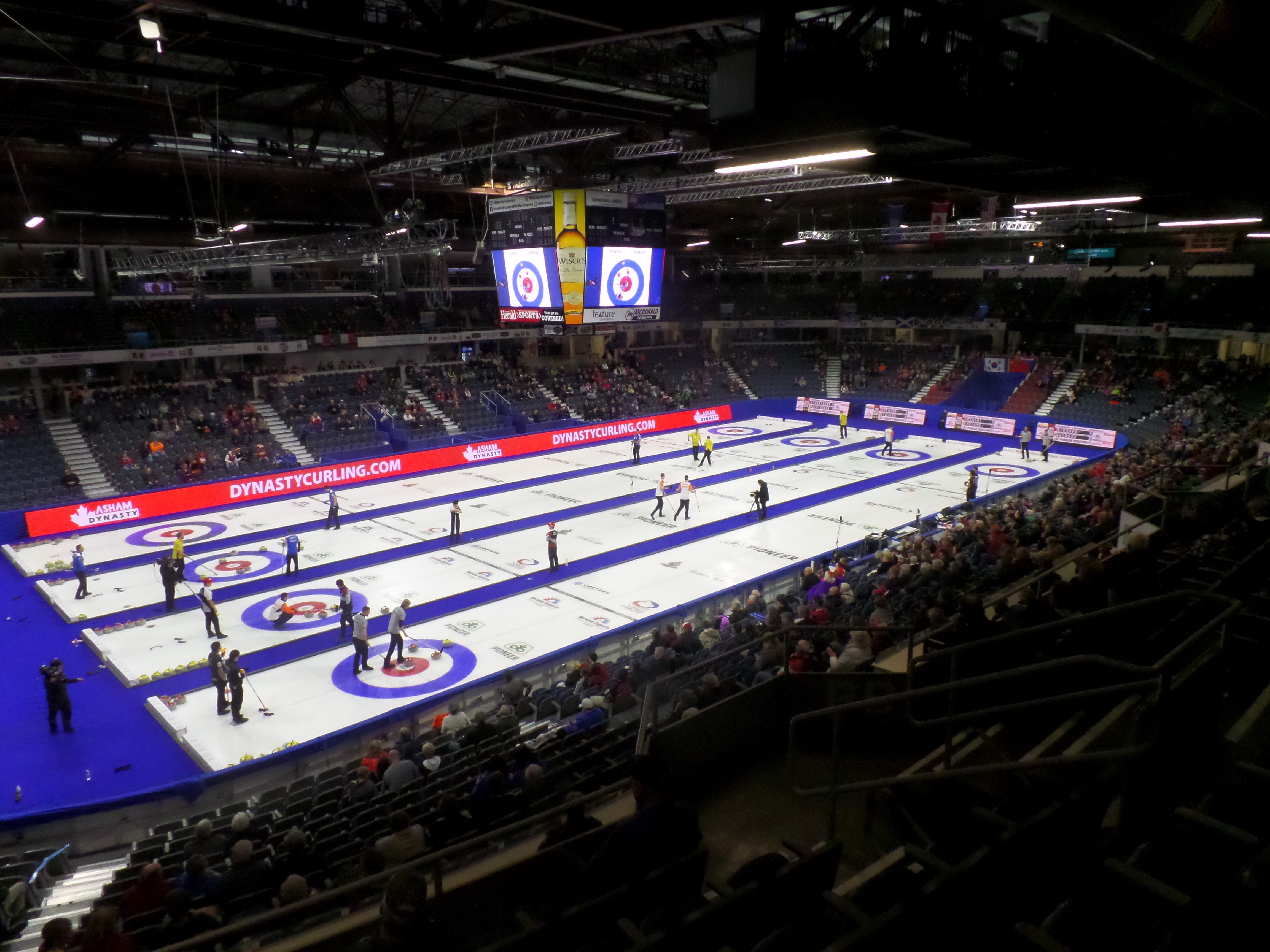 Curling Men's World Championship in Lethbridge | Stadium Journey