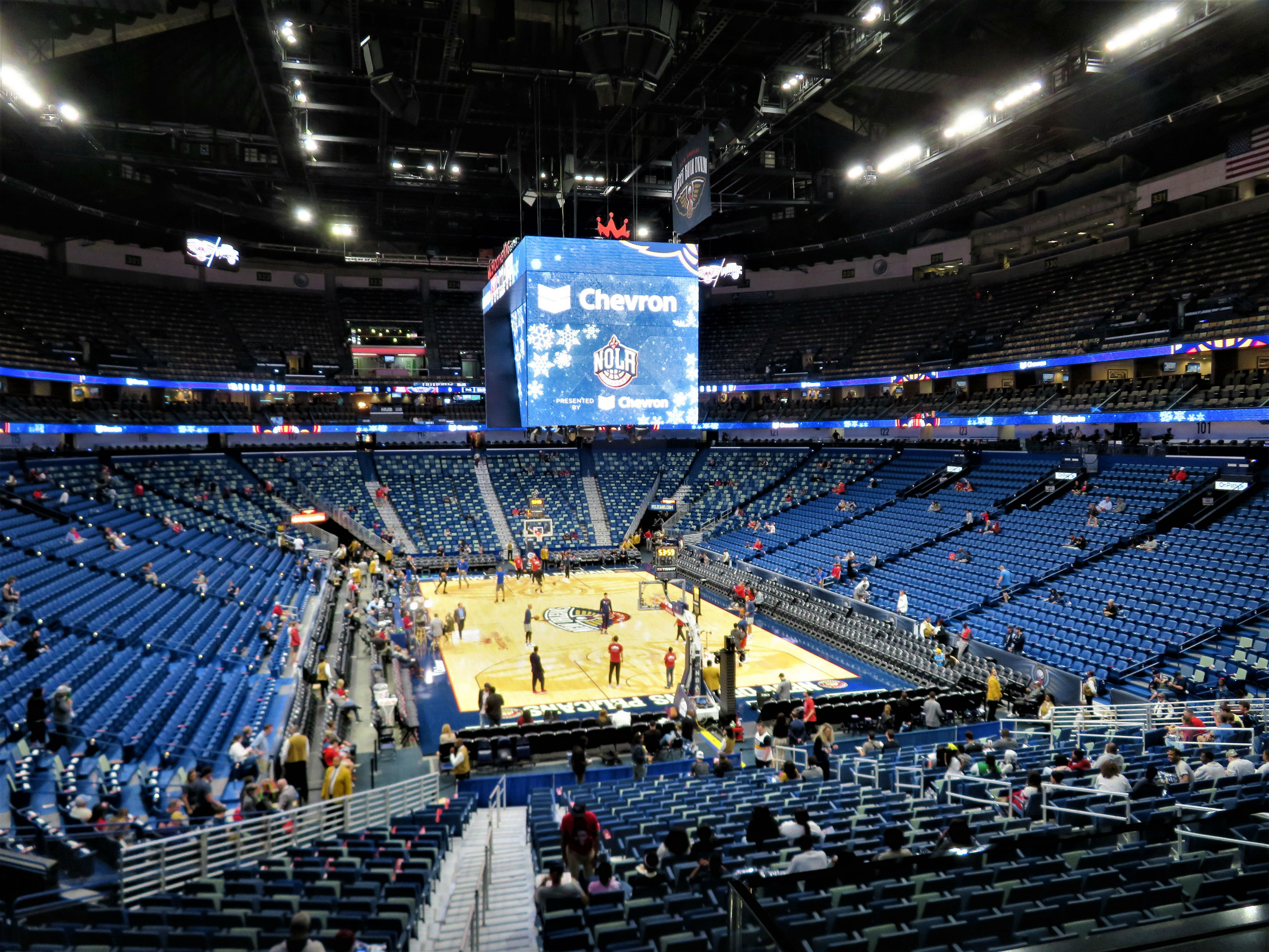 Smoothie King Center New Orleans Pelicans Stadium Journey