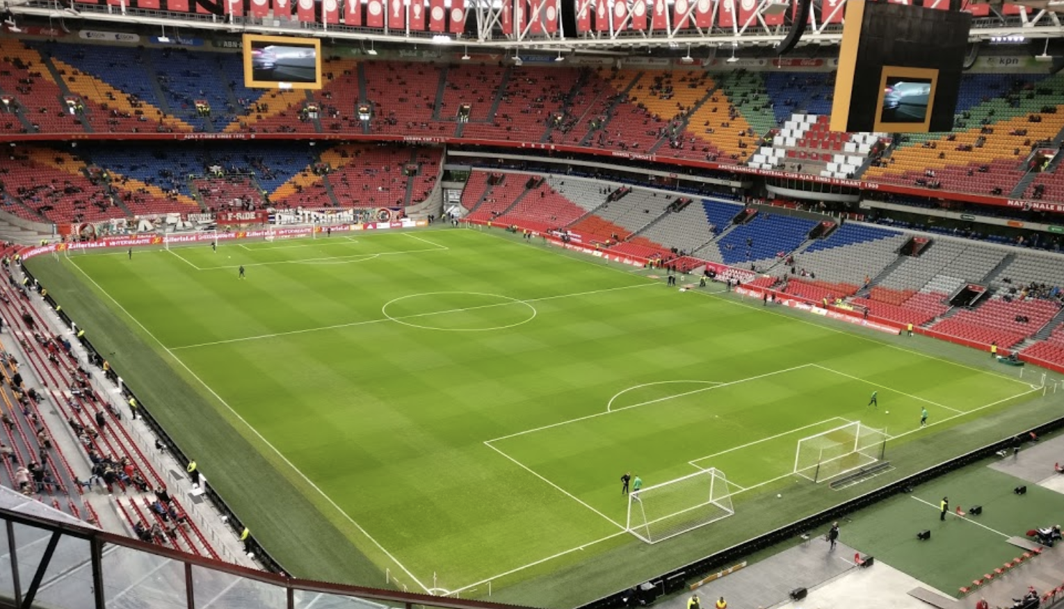 Dutch Football Season Ends No Promotion Relegation Stadium Journey