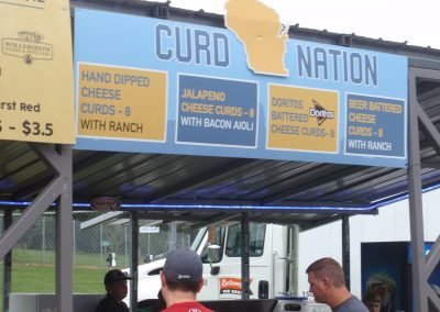 Chesse Curds Available at Warner Park